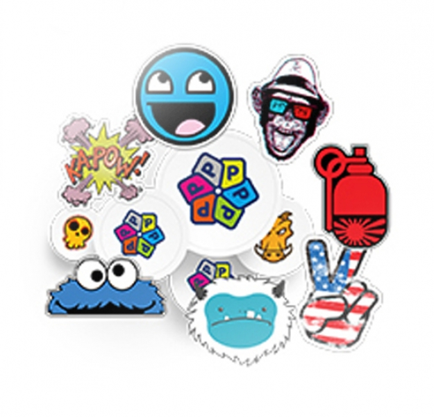 Etiket sticker per m2 transparant sticker vinyl sticker